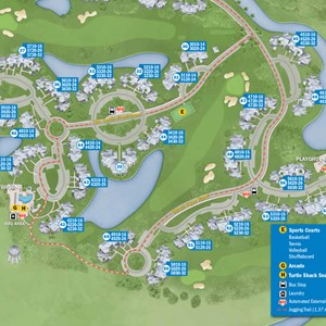 25 of 37: Walt Disney World Park and Resort Maps - New 2013 Old Key West Resort map