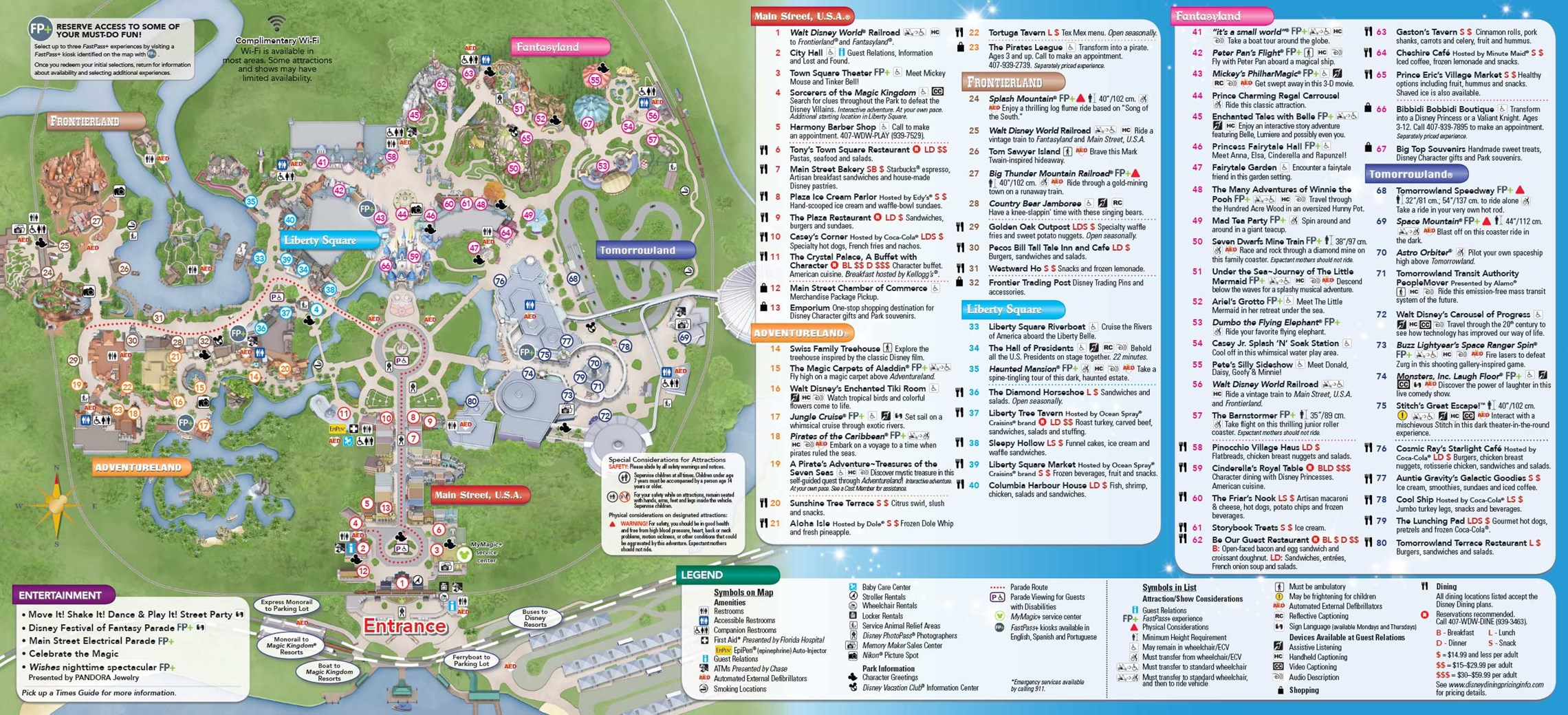 ... 22, 2015. Magic Kingdom Guide Map May 2015 - Back. Copyright 2015