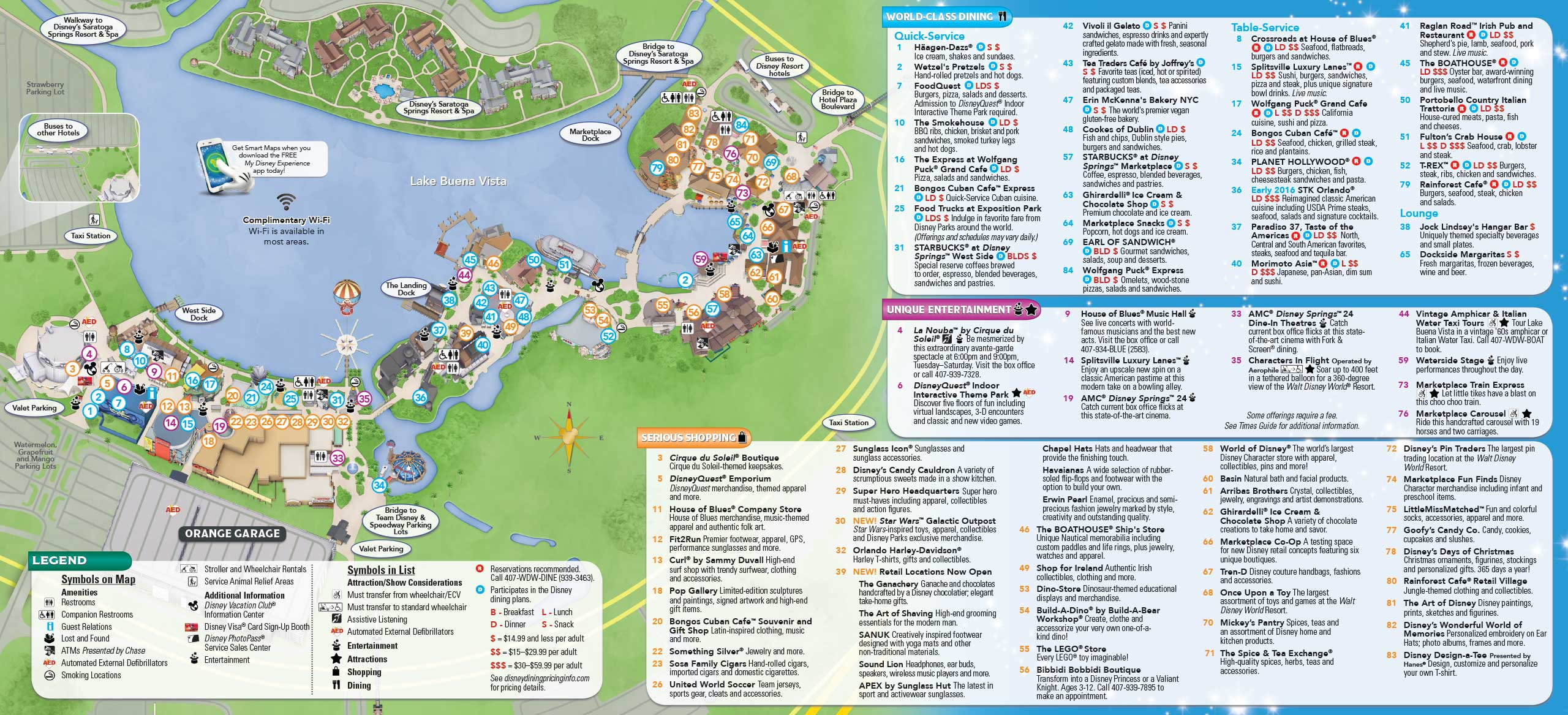 january 2016 walt disney world park maps photo 10 of 12