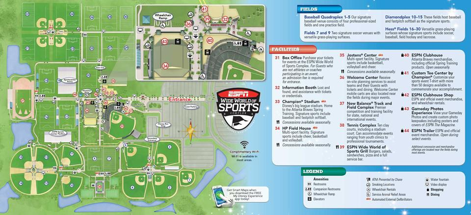 Espn Wide World Of Sports Map Timekeeperwatches - Wide world of maps