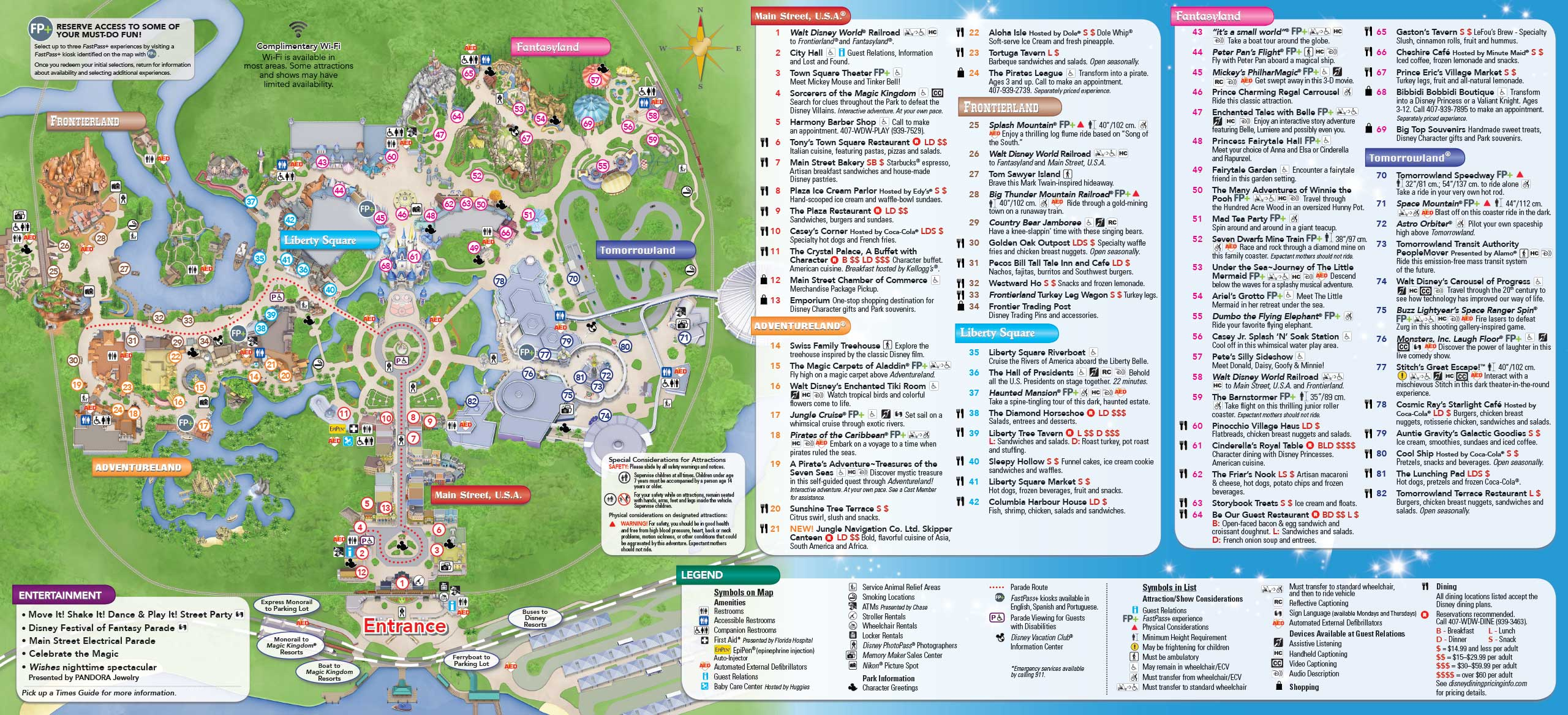 may 2016 walt disney world park maps photo 1 of 14