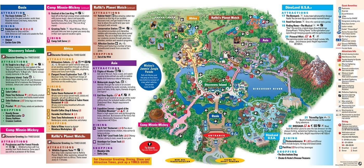 Park Maps 2008