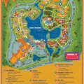 Walt Disney World Park and Resort Maps - Disney's Coronado Springs Resort map