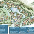 Walt Disney World Park and Resort Maps - Disney&#39;s Saratoga Springs Resort &amp; Spa map