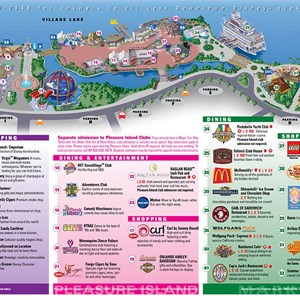 2 of 3: Walt Disney World Park and Resort Maps - Downtown Disney map