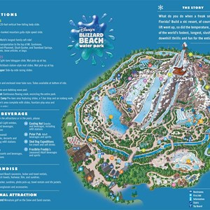 1 of 2: Walt Disney World Park and Resort Maps - Water Park Maps 2008