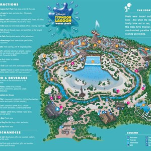 2 of 2: Walt Disney World Park and Resort Maps - Water Park Maps 2008