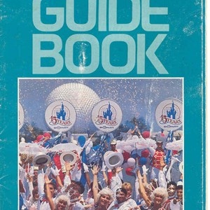 2 of 12: Walt Disney World Park and Resort Maps - Epcot Center Guide Book 1986