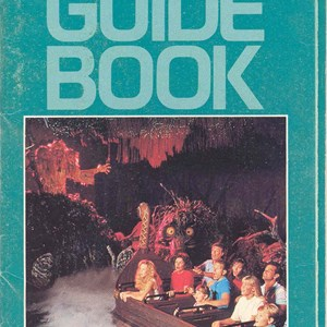 2 of 14: Walt Disney World Park and Resort Maps - Epcot Center Guide Book 1989
