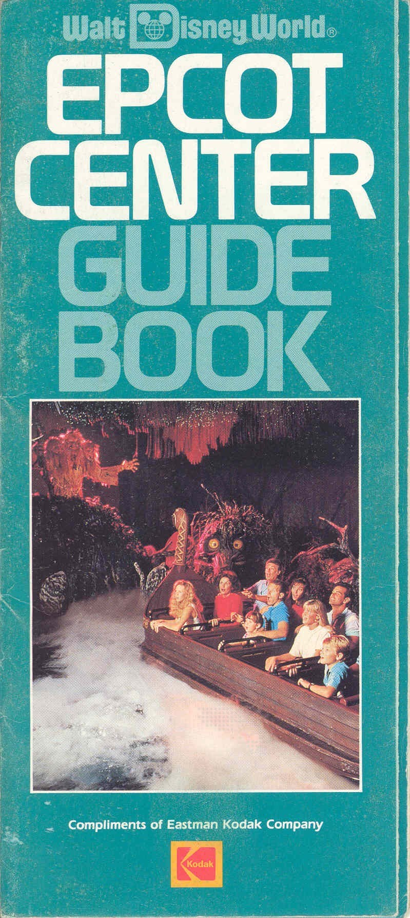 Epcot Center Guide Book 1989