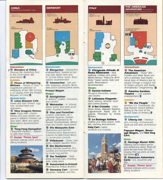 Walt Disney World Park and Resort Maps
