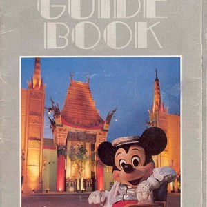 2 of 13: Walt Disney World Park and Resort Maps - Disney-MGM Studios Guide Book 1989