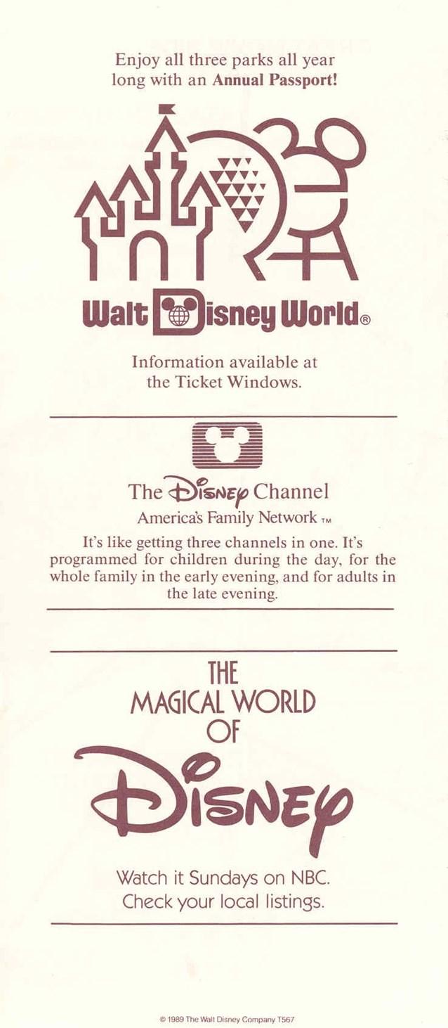 Walt Disney World Park and Resort Maps
