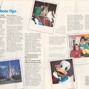6 of 13: Walt Disney World Park and Resort Maps - Magic Kingdom Guide Book 1982