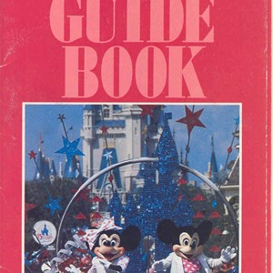 2 of 12: Walt Disney World Park and Resort Maps - Magic Kingdom Guide Book 1986