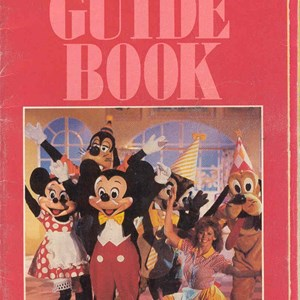 2 of 14: Walt Disney World Park and Resort Maps - Magic Kingdom Guide Book 1988