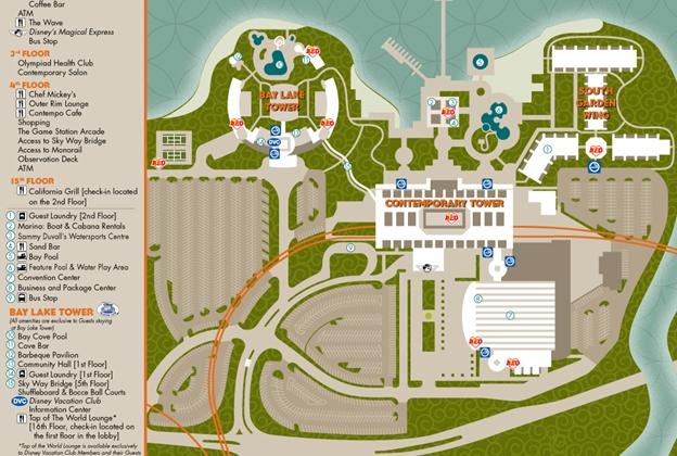 Resort Maps 2009