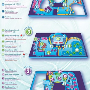 3 of 3: Walt Disney World Park and Resort Maps - DisneyQuest