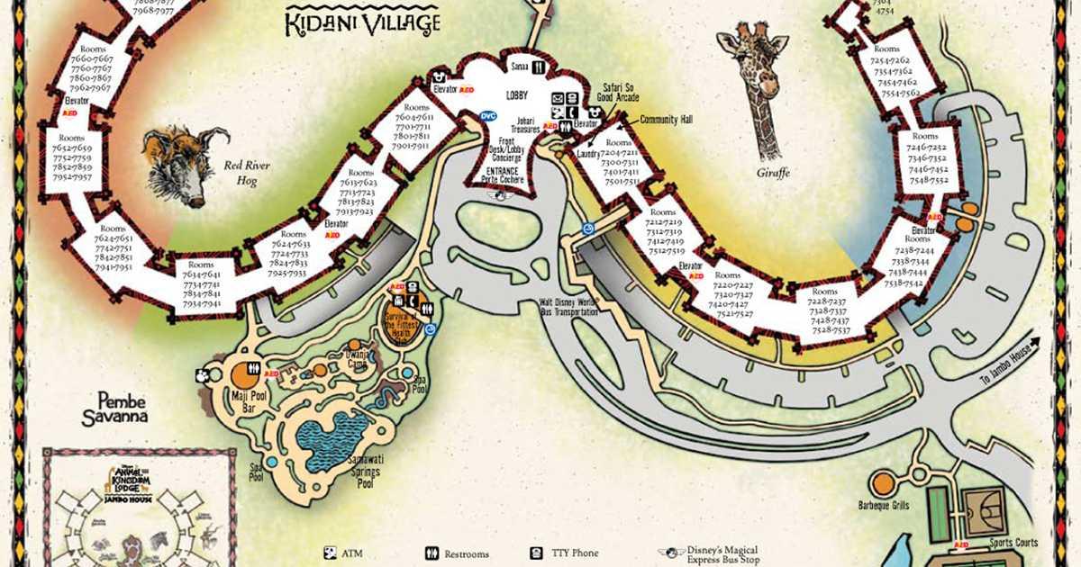resort maps 2009 photo 2 of 2
