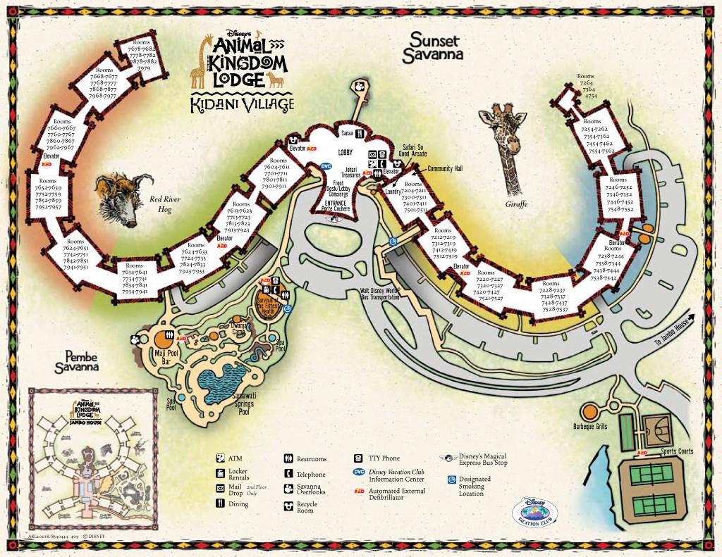Resort Maps 2009