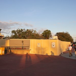 4 of 6: MyMagic+ - MyMagic+ RFID turnstiles construction at Magic Kingdom