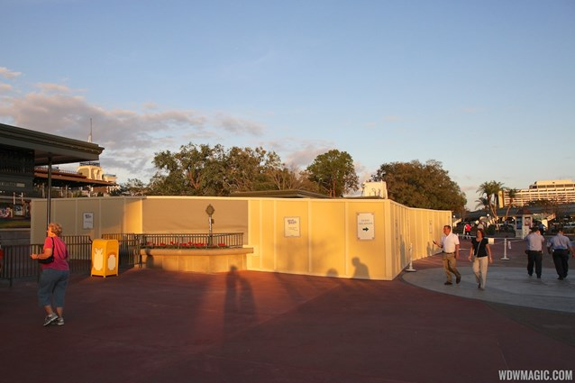 MyMagic+ - MyMagic+ RFID turnstiles construction at Magic Kingdom