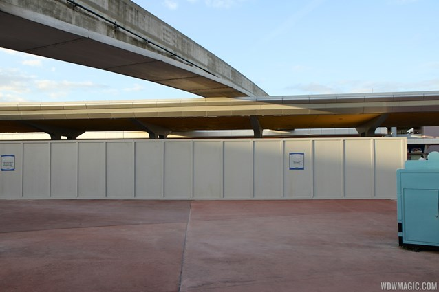 MyMagic+ - MyMagic+ RFID turnstiles construction at Epcot