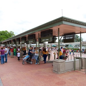 1 of 3: MyMagic+ - MyMagic RFID turnstiles expanded at Magic Kingdom