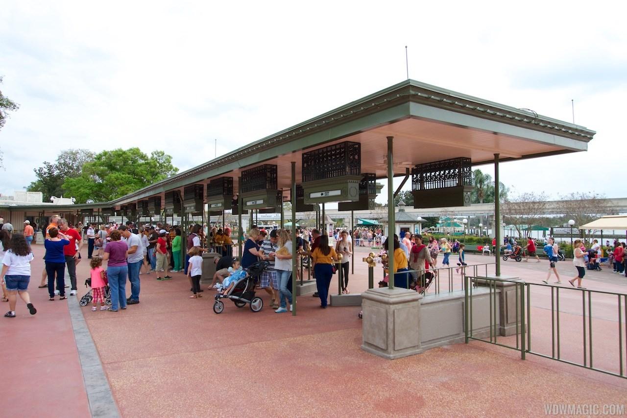 MyMagic RFID turnstiles expanded at Magic Kingdom