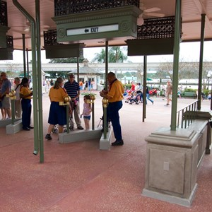 3 of 3: MyMagic+ - MyMagic RFID turnstiles expanded at Magic Kingdom