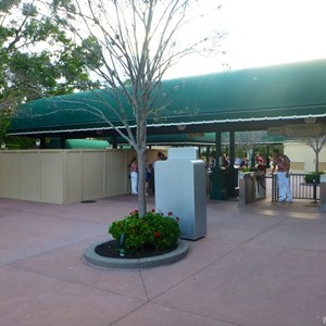 2 of 2: MyMagic+ - MyMagic+ RFID turnstiles installation at Epcot's International Gateway