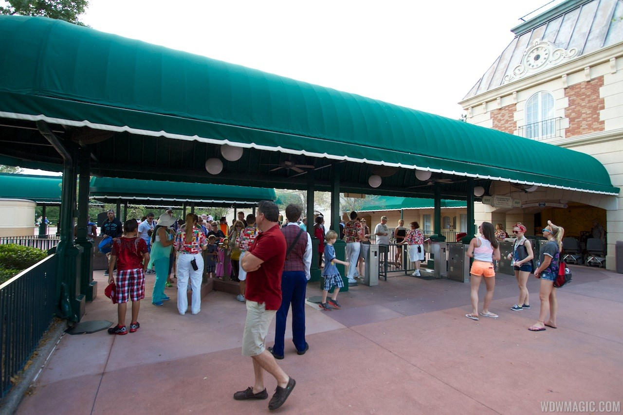 MyMagic+ RFID turnstiles open at Epcot's International Gateway