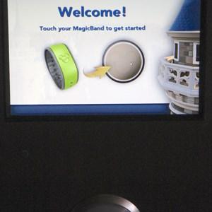 4 of 4: MyMagic+ - FASTPASS+ kiosk at Splash Mountain