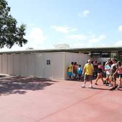 More MyMagic RFID turnstiles under construction at the Magic Kingdom