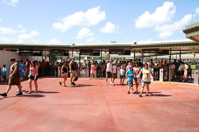 MyMagic+ - Only 12 of the original turnstiles now remain