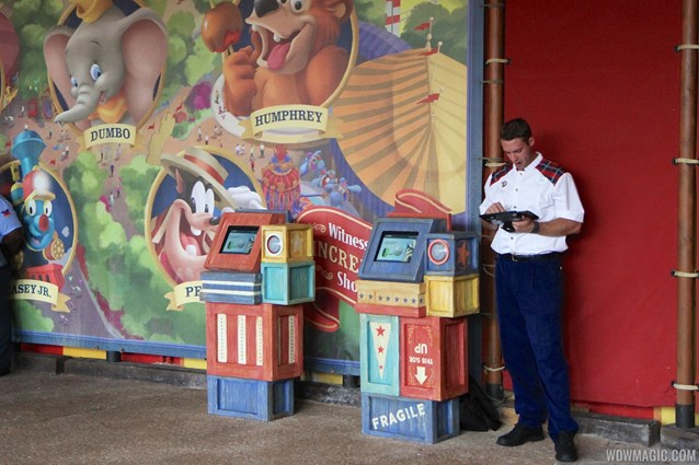 MyMagic+ - FastPass+ kiosk in Storybook Circus