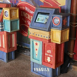 3 of 6: MyMagic+ - FastPass+ kiosk in Storybook Circus