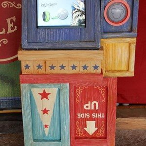 4 of 6: MyMagic+ - FastPass+ kiosk in Storybook Circus