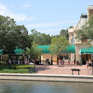 1 of 5: MyMagic+ - MyMagic+ RFID turnstiles complete at Epcot's International Gateway