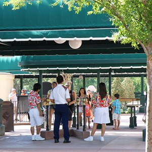 3 of 5: MyMagic+ - MyMagic+ RFID turnstiles complete at Epcot's International Gateway
