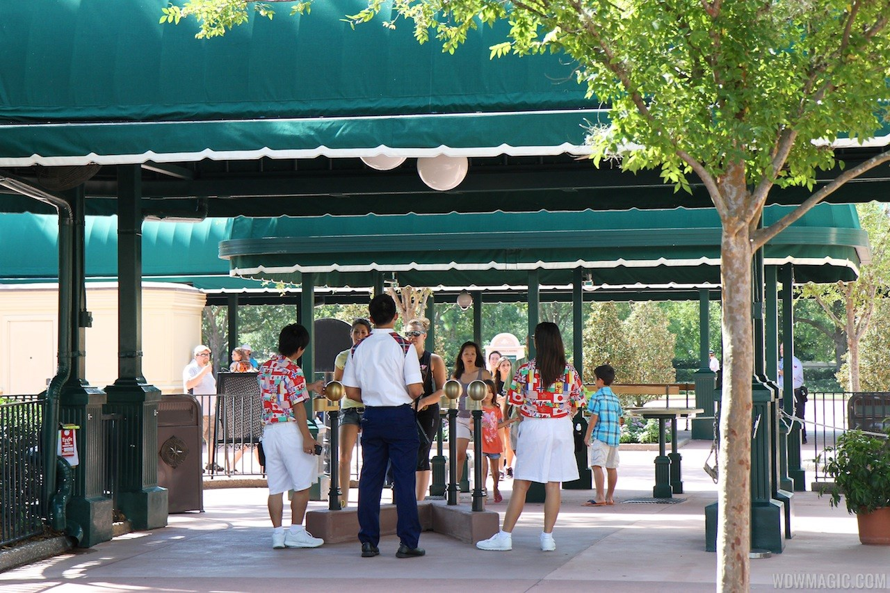 MyMagic+ RFID turnstiles complete at Epcot's International Gateway