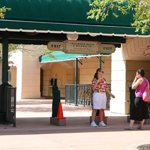 4 of 5: MyMagic+ - MyMagic+ RFID turnstiles complete at Epcot's International Gateway
