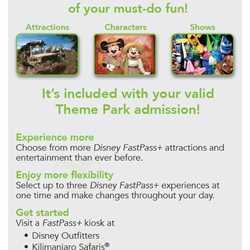 FastPass+ flyers for non-resort guests