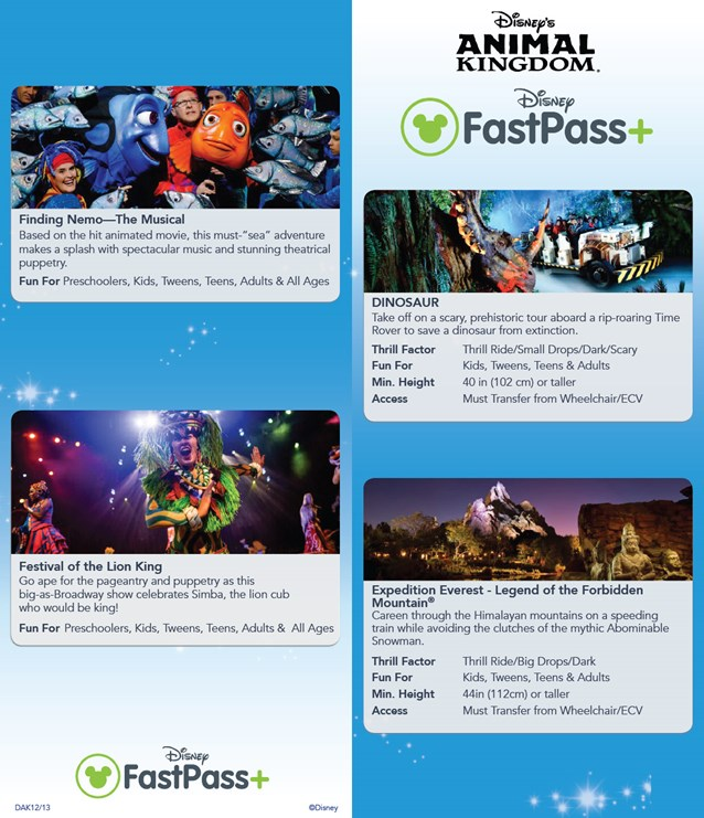 MyMagic+ - FastPass+ guide for non-resort guests
