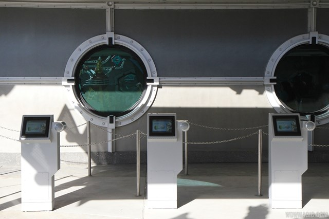 FastPass+ kiosk in Tomorrowland