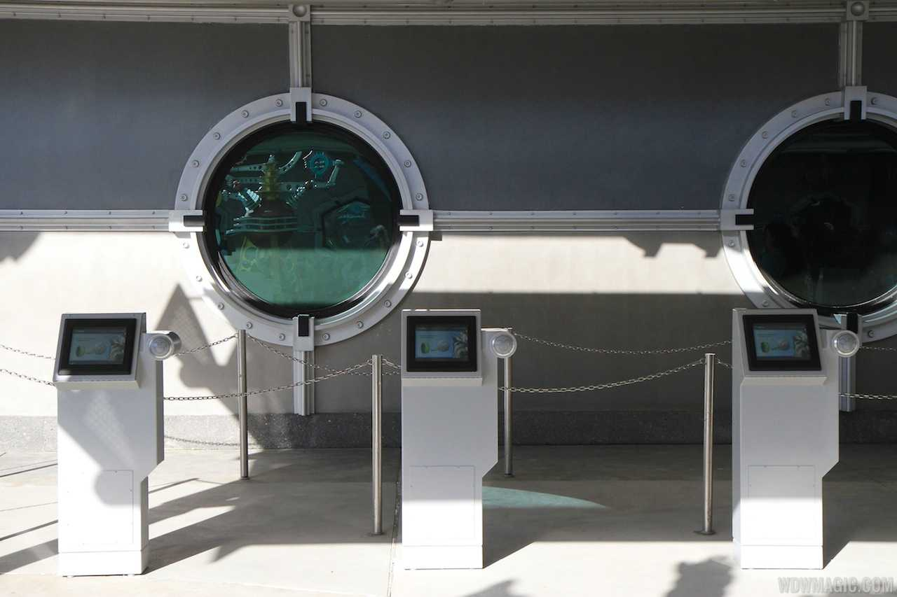 FastPass+ kiosk in Tomorrowland
