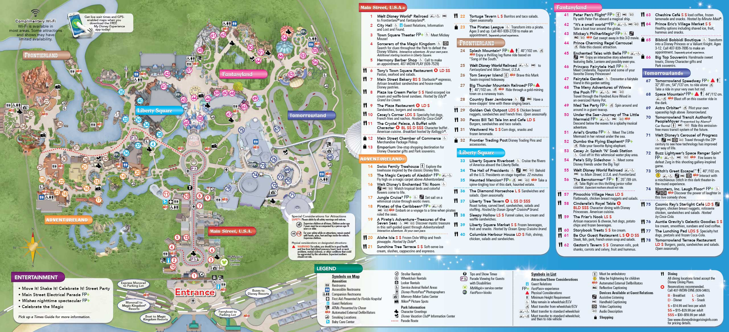 MyMagic+ and FastPass+ Magic Kingdom and Disney's Animal Kingdom guide ...