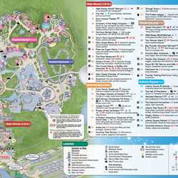MyMagic+ and FastPass+ Magic Kingdom and Disney's Animal Kingdom guide maps