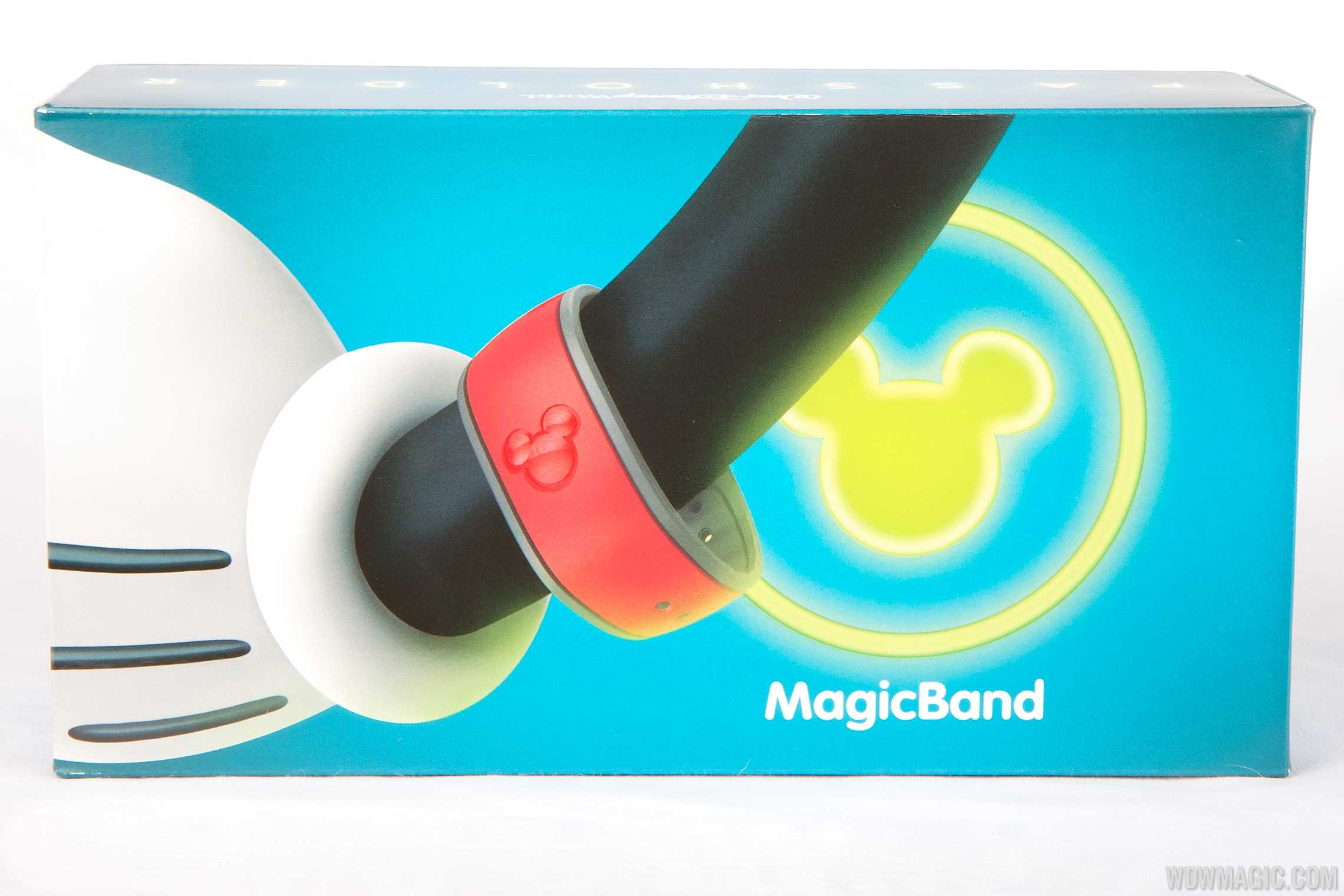 MagicBand passholder box top view
