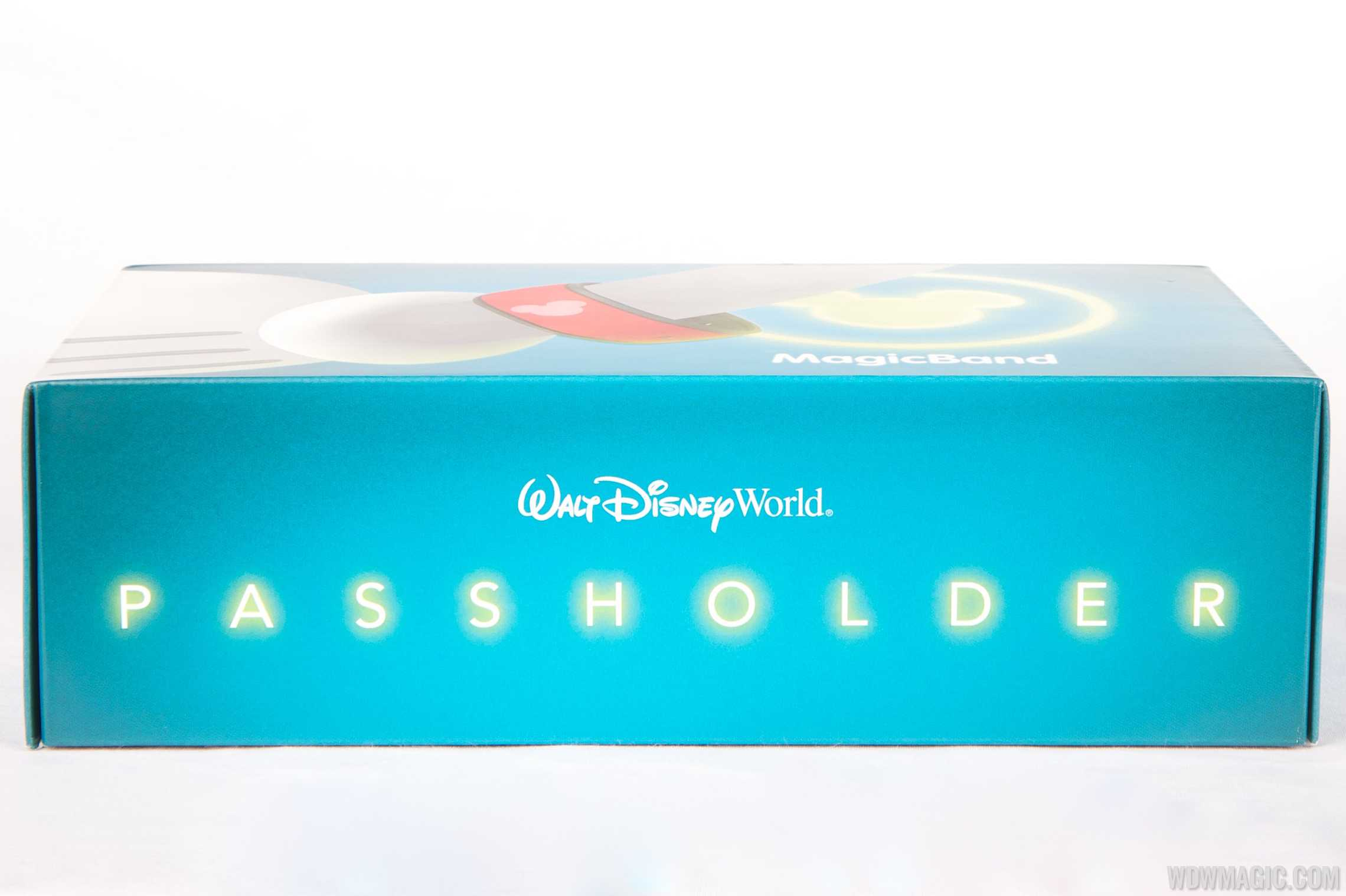 MagicBand passholder box side view